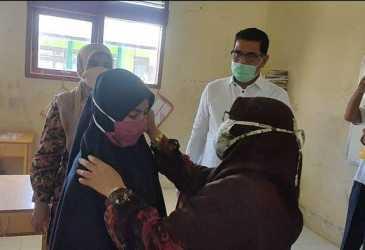 Distanbun Pantau Program Gemas ke Sekolah di Aceh Besar
