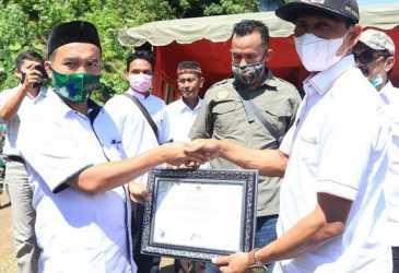 Tiga Desa di Aceh Selatan Terima Sertifikat Proklim Utama 2020
