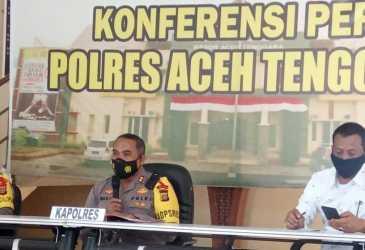 Polres Aceh Tenggara Tangani Ratusan Kasus Sepanjang Tahun 2020