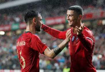 Cristiano Ronaldo Punya Peran atas Kepindahan Bruno Fernandes ke Man United