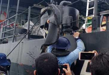 Lokasi Jatuh Pesawat Sriwijaya Air SJ-182 Ditemukan