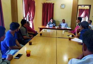 Mantan Satpam RSUD Munyang Kute Mengadu ke Dewan