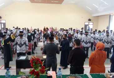 Puluhan Kepala Sekolah di Aceh Tenggara Resmi Dilantik