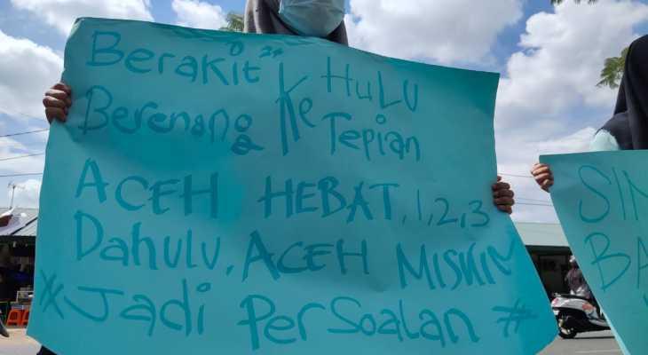 KMP Aceh Hebat Dituding Barang Bekas