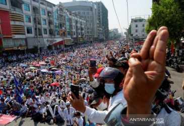 Jatuhkan Sanksi pada Panglima Tertinggi Militer Myanmar