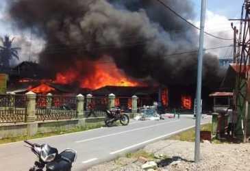 Rumah Pribadi Wakil Bupati Aceh Tenggara Ikut Terbakar