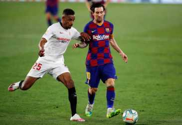 Lima Tanda Barcelona Bisa Comeback Lawan Sevilla Bersama Messi