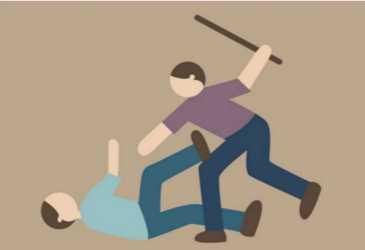 Tukang Sate Dipukul Dengan Membabi-Buta