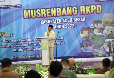 Buka Musrembang RKPD Tahun 2022