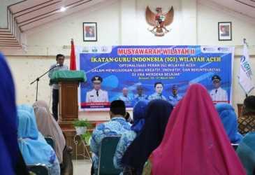 Gubernur Aceh: IGI Bersinergi untuk Mewujudkan Program Unggulan Aceh Carong