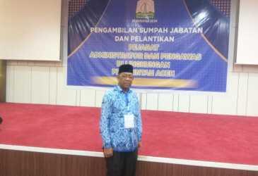 Ketua Satgas Literasi IGI Aceh, Jabat Kabid Pembinaan SMA dan PKLK Disdik