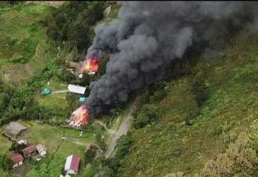 Kembali Kontak Tembak dengan KKB di Ilaga Papua