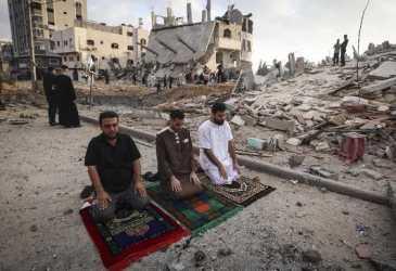 12 Rumah Diduga Milik Hamas Hancur