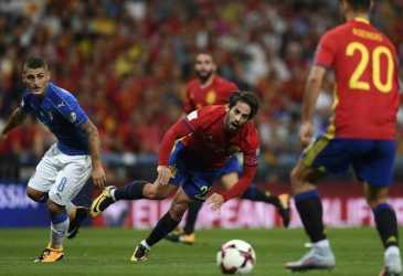 Lima Duel Terbaik Italia vs Spanyol