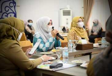 Gelar Rapat Persiapan Sambut Hari Anak Nasional dan Daerah tahun 2021