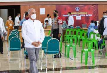 Pantau Vaksinasi COVID-19, Capaian Hari Ini 2.288 Orang