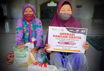 ACT Aceh Gelar Operasi Pangan Gratis