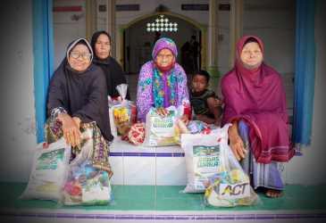 Program Pangan Gratis ACT Aceh Menyapa Kaum Duafa