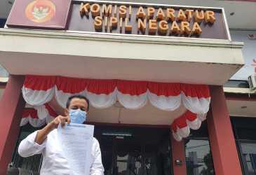 Laporkan Camat Banda Alam Aceh Timur ke KASN
