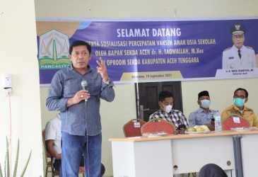Kadisdik Aceh: Kepala Sekolah Kalau Tidak Mampu Silahkan Mundur