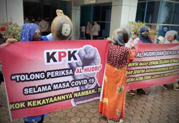 Desak KPK Periksa Alhudri