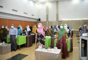 Buka Kegiatan Apresiasi Bunda PAUD Aceh Tahun 2021