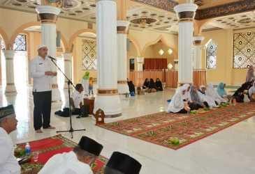 Sekdako Sabang Sambut Jamaah Haji