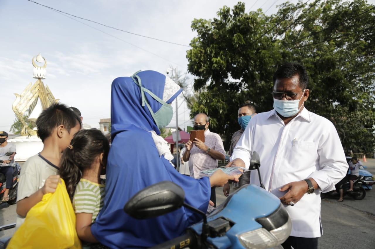 Amin-Zainal Pimpin Razia Masker di Ulee Lheue
