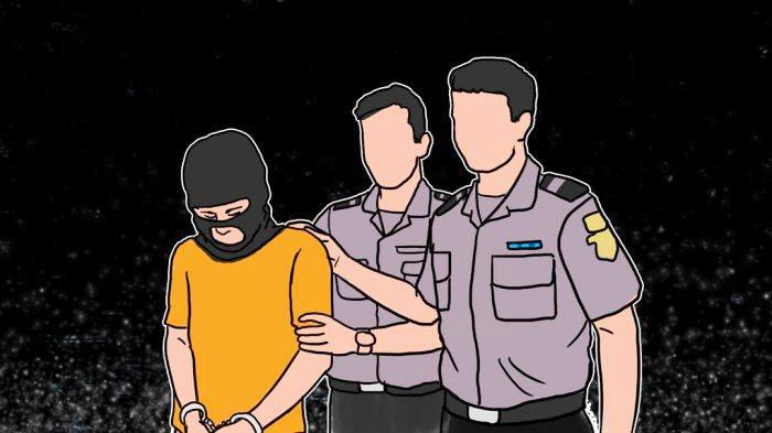 Polisi Ringkus Pelaku Penikaman Tukang Ojek