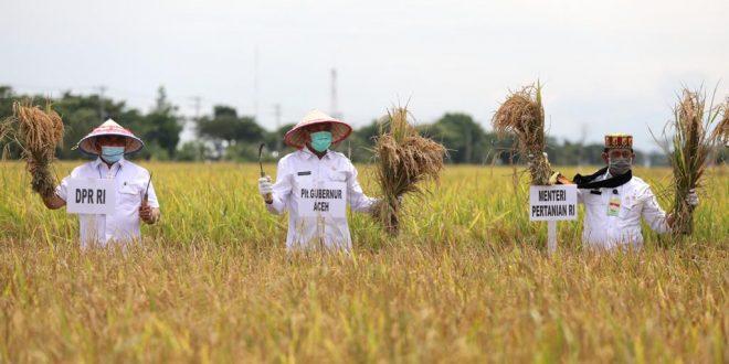 Menteri Pertanian Dukung Pengembangan Ekonomi Petani di Aceh