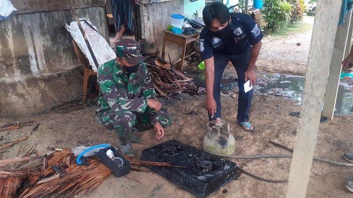 Kompor Gas Meledak, Rumah Warga Seuneubok Lapang Terbakar