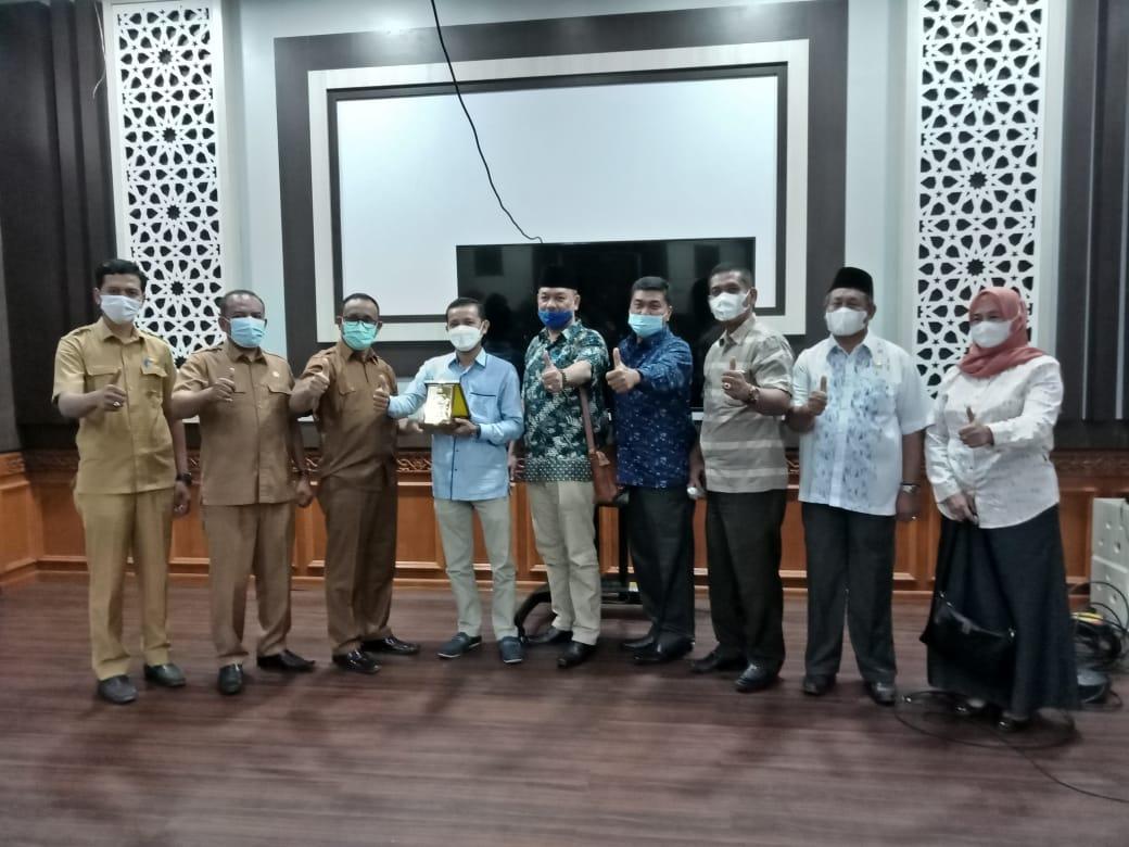 Terima Kunker Komisi B DPRD Langkat