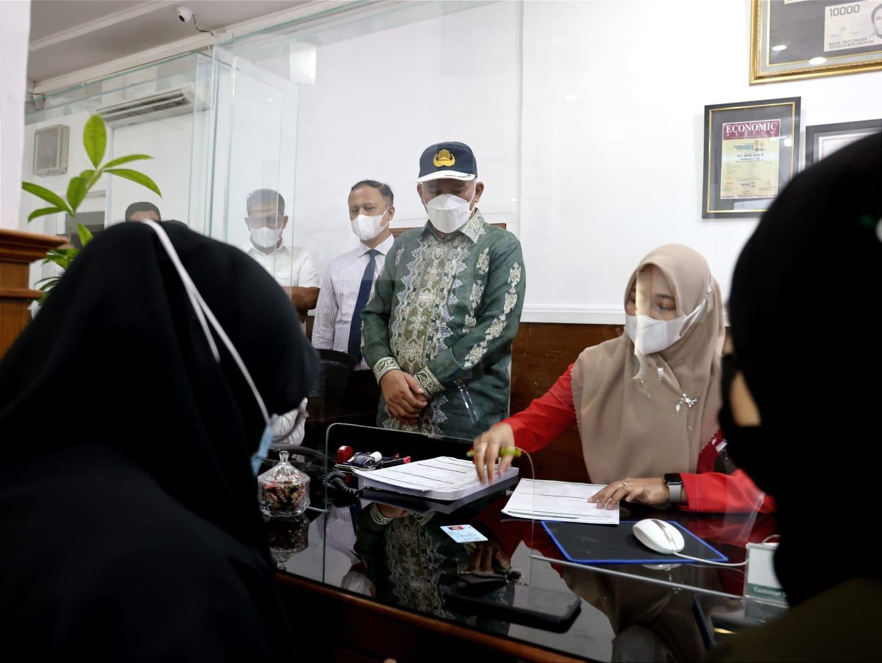 Pantau BEREH Kantor Bank Aceh Syariah di Kota Sabang