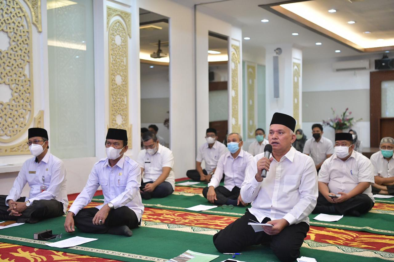 Sekda Aceh Sapa ASN di Kabupaten Kota