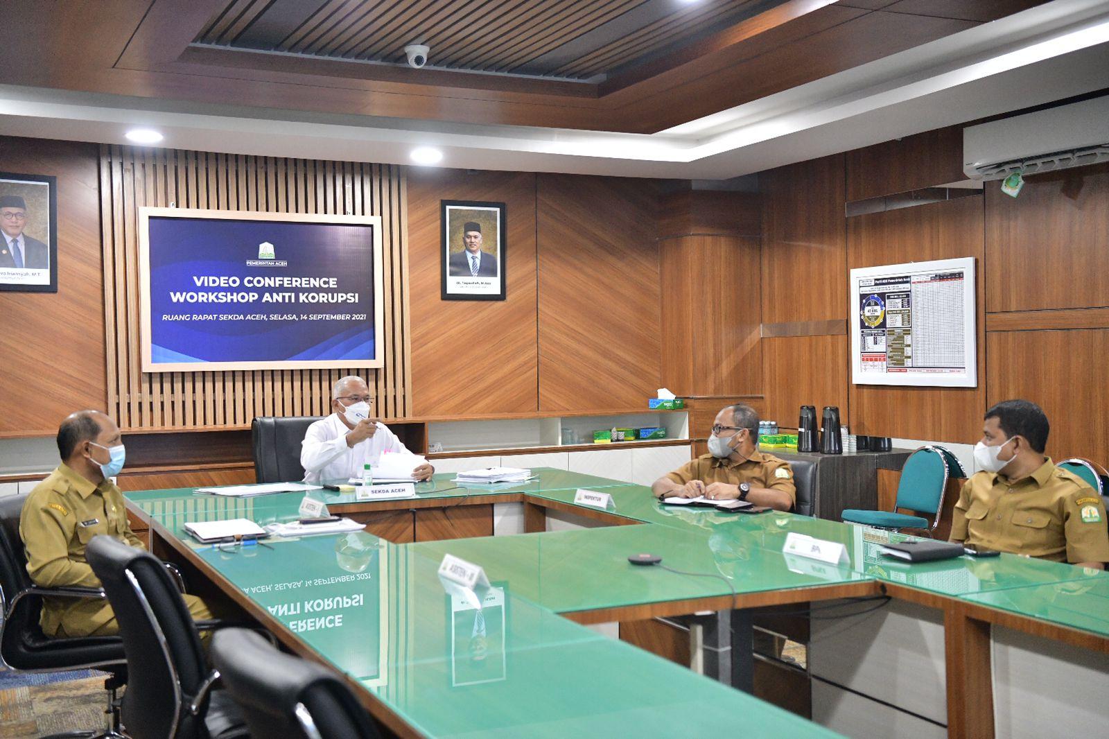 Ikut Workshop Anti Korupsi bersama BPK RI