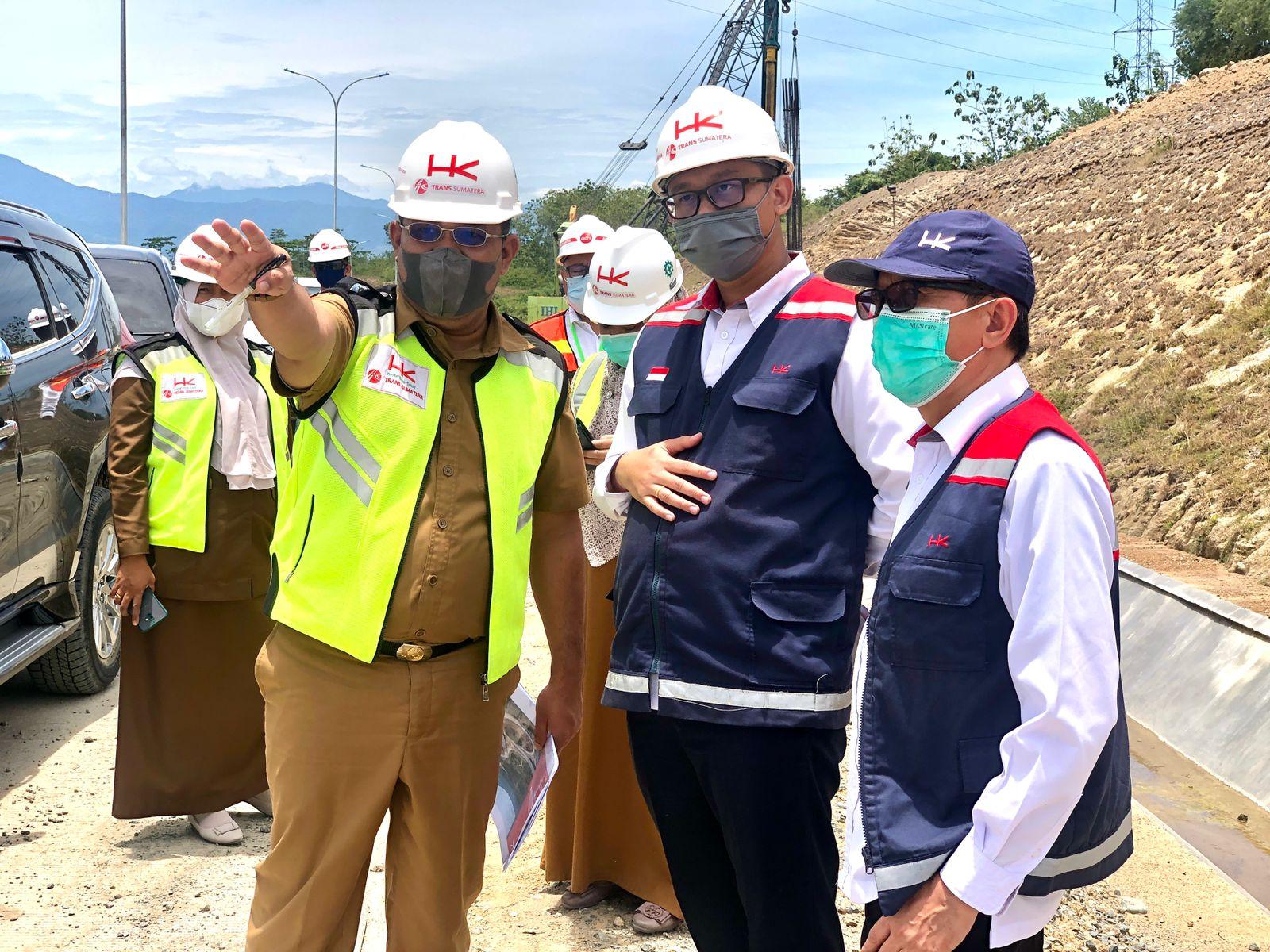 Pembangunan Ruas Tol Sibanceh terus Dipacu