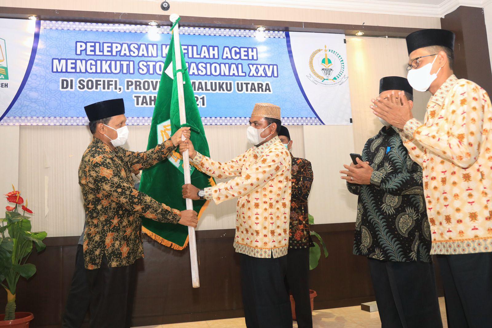 Kontingen STQH Aceh Diharapkan Harumkan Nama Daerah