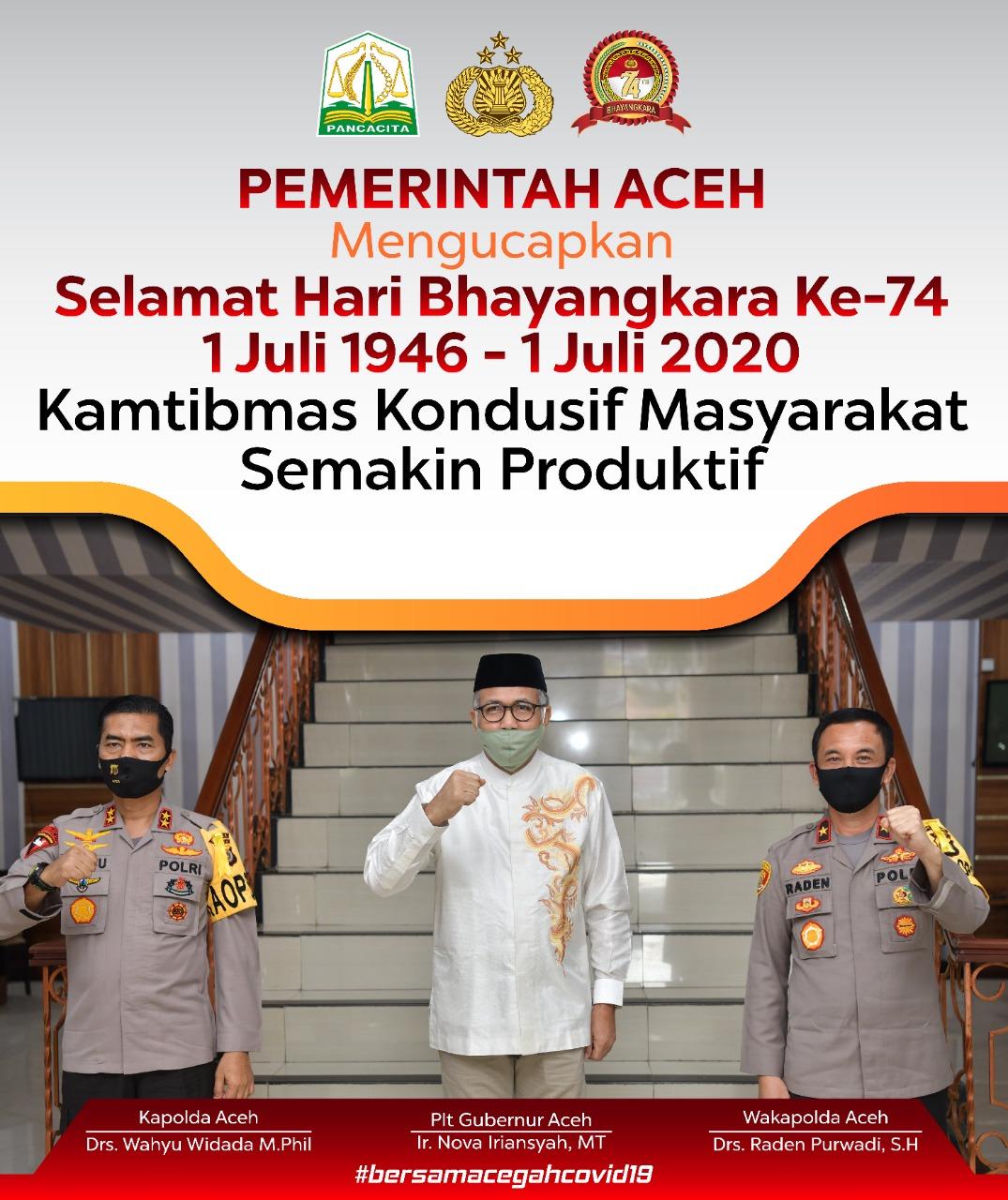 Pemda Aceh - HUT polisi